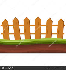 Images Farm Fence Cartoon Cartoon Rural Wooden Fence Green Grass Vector Illustration Wood Farm Stock Vector C Myub 225169024