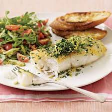 Parsley-and-Lemon Cod with Zucchini ...