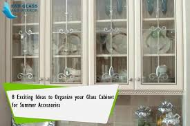 ideas to organize your glass cabinet