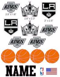 Los Angeles Kings Cranial Band Decoration From High Quality Vinyl