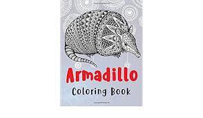 Armadillo - Coloring Book: Turner, Adeline: 9798624862326: Books - Amazon.ca