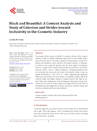 pdf black and beautiful a content