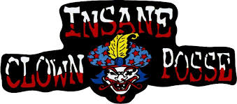 Amazon Com Insane Clown Posse Logo With Clown Face Large Jumbo Vinyl Sticker Decal Icp Automotive