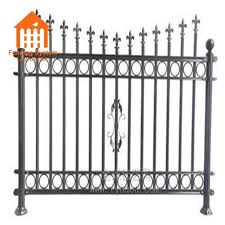 Steel Fencing Wholesale Used Wrought Iron Fencing For Sale Buy Steel Fence Steel Fence Posts For Sale Steel Tube Fence Panels Product On Alibaba Com