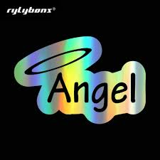 Rylybons Angels And Halos Car Styling Vinyl Body Window Bumper Stickers And Decals For Auto External Decorations Accessories Car Stickers Aliexpress