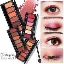 smokey eye shadow shimmer matte color