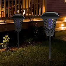 Toys Games Solar Fence Post Solar Lights Outdoor Solar Powered Led Light Lamp Solar Cap Light 8led Round Courtyard Lawn Wall Headpost Light Landscape Light Learning Education Toys Games