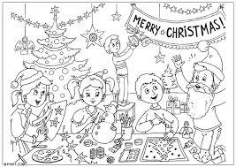 Kleurplaat Zalig Kerstfeest Gratis Kleurplaten Om Te Printen