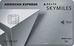 delta skymiles platinum credit card
