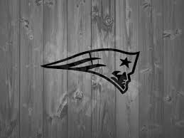 New England Patriots Vinyl Decal Etsy