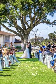 outdoor wedding ceremonies monterey