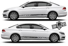 Volkswagen Passat 2x Body Decals Side Stripe Sticker Logo Etsy In 2020 Volkswagen Passat Volkswagen Car