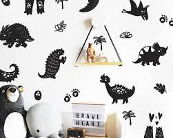 Dinosaur Wall Decals Boy Nursery Decor Nursery Decor Gift Dinosaur Ga21 Ebay