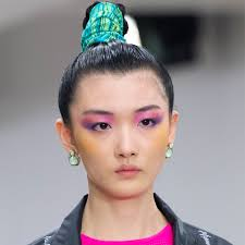 makeup looks from the ss20 runway