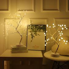 2020 Battery Operated Tree Lamp Decorative Led Lights Tree Night Lights Fairy Usb Touch Desk Table Kids Bedroom Warm White Night Bedside Lamp From Yimaotech 9 57 Dhgate Com
