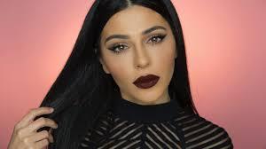 dark lips makeup tutorial saubhaya makeup