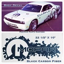 For 2pcs Dodge Hellcat Mopar Big Body Window Decal New Carbon Fiber Challenger Usa Car Stickers Aliexpress