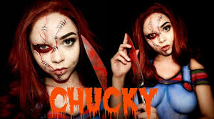 chucky doll halloween sfx makeup