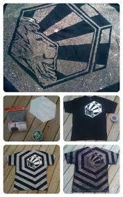 Bleach T Shirt Design Materials A Black T Shirt Bleach Water Spray Bottle Stencil Duck Tape Or Decal To Make Bleach T Shirts Bleach Shirts Diy Clothes