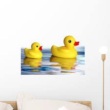 Rubber Ducky Wall Decal Wallmonkeys Com
