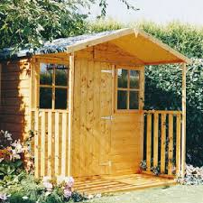 shire casita garden shed with verandah