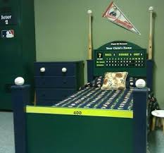 Hand Crafted Baseball Bed By Wwbeds Custom Furniture Custommade Com