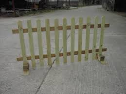 No Posts Picket Fence Ideal Events Shows Moveable Free Standing Free Delivery Norwich Area United Kingdom Backyard Fences Picket Fence Easy Fence
