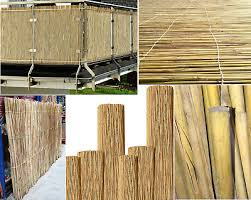 Aqs 180cm Bamboo Reed Fence Screen Handmade Garden Fencing Panel Privacy Screen Eur 24 31 Picclick Fr