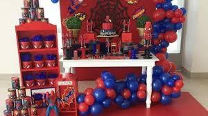 Ideas Para Fiesta Tematica De Spiderman Guia En Decoracion