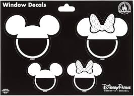 Amazon Com Theme Park Merchandise Disney Parks Family With Mickey Mouse Ear Hats Window Decal Sticker Set Home Kitchen