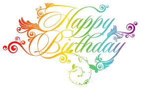 happy birthday png clipart picture