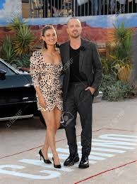 Lauren Parsekian And Aaron Paul At The Los Angeles Premiere Of.. Stock  Photo, Picture And Royalty Free Image. Image 131402618.