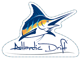 Atlantic Drift Logo Sticker Window Decal