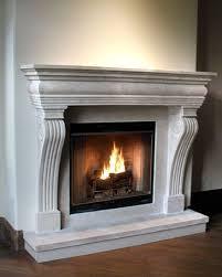 regal cast stone fireplace mantel