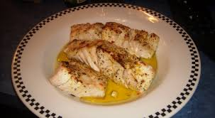 Broiled Grouper with Mango, Papaya Salad