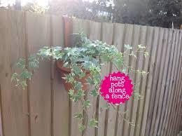 Fence Hanger 6 Pot Ring Folksy