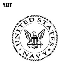 Yjzt 13 5 13 5cm United States Navy Warrior Symbol Covering The Body Soldier Car Sticker Decal Black Silver Vinyl C20 1808 Car Stickers Aliexpress