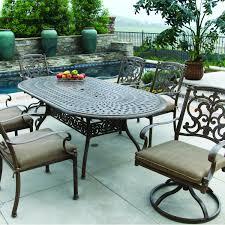 cast aluminum patio dining