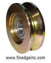 Gate Wheel Pulley Manufacturers In India Steel Track Wheel Cantilever Wheels Gate Wheels U Groove V Groove With Bolt And Nut Exporters Suppliers From India Gate Wheels With Bearings Suppliers In Punjab