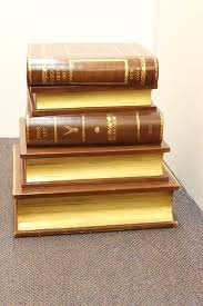 maitland smith stacked book end table