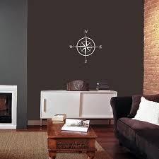 Shop 15 Inch Vinyl Compass Wall Decal Overstock 10404910