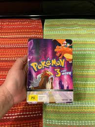 Pokemon 3 The Movie DVD Steelkbook Edition - Region 4 for sale online