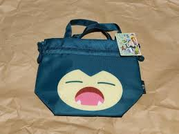 Pokemon Center Yawning Snorlax Lunch Pouch, Women's Fashion, Bags ...