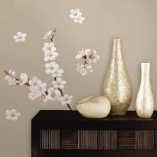 Dogwood Flowers Wall Decals Roommates Decor