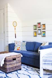 A Couch Makeover A Hangout Spot In The Boys Room Design Post Interiors
