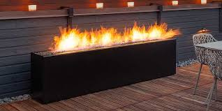 fire pits modern contemporary