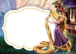 Download Rapunzel Invitations Template For Free Rapunzel
