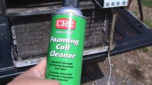 crc foaming coil cleaner vs very nasty