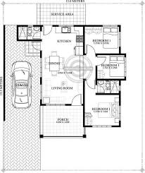 dominic one story house plan pinoy