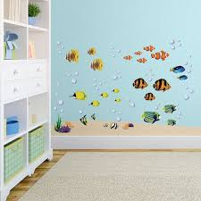Isabelle Max Reef And Fish Nursery Wall Decal Reviews Wayfair